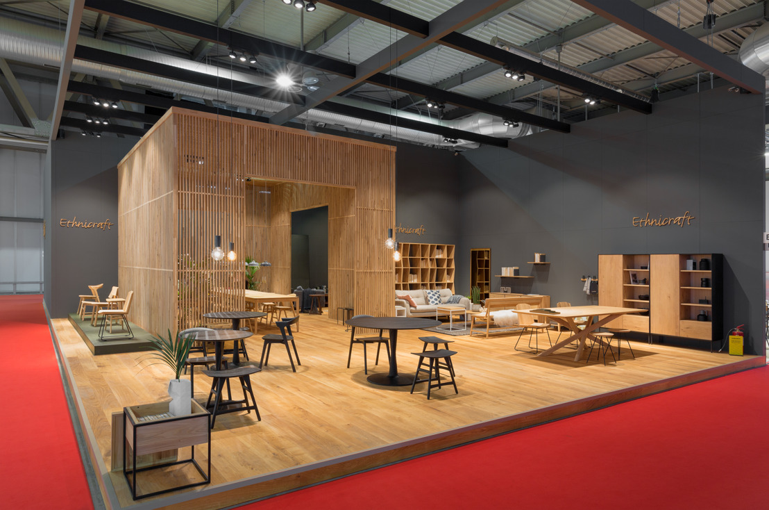 Ethnicraft Sums Up a Busy Season of Fairs with Salone del Mobile Milano