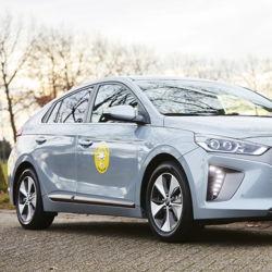 La Hyundai Ioniq EV élue Voiture familiale VAB de l'année 2017