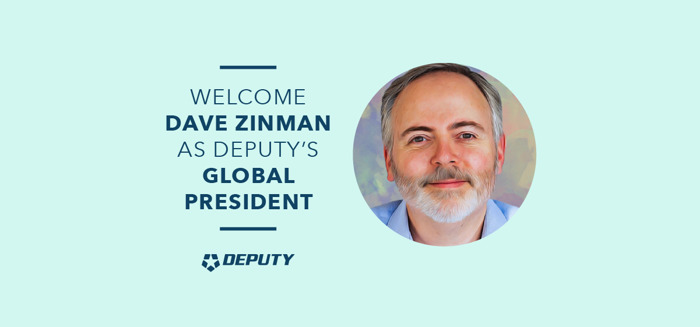 Deputy Names Tech Trailblazer Dave Zinman, as Global President