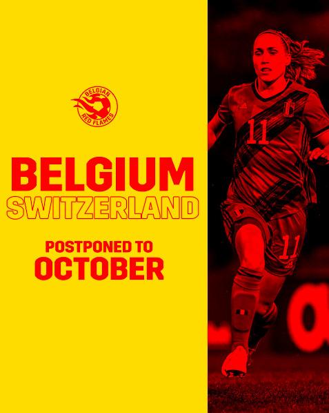 Red Flames – Zwitserland verplaatst naar oktober