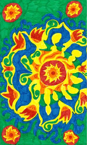 Un tapis de fleurs dans les Marolles
