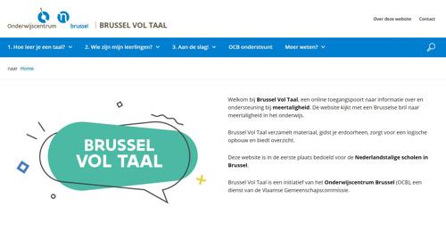 Online platform helpt Brusselse leerkrachten omgaan met meertaligheid op school