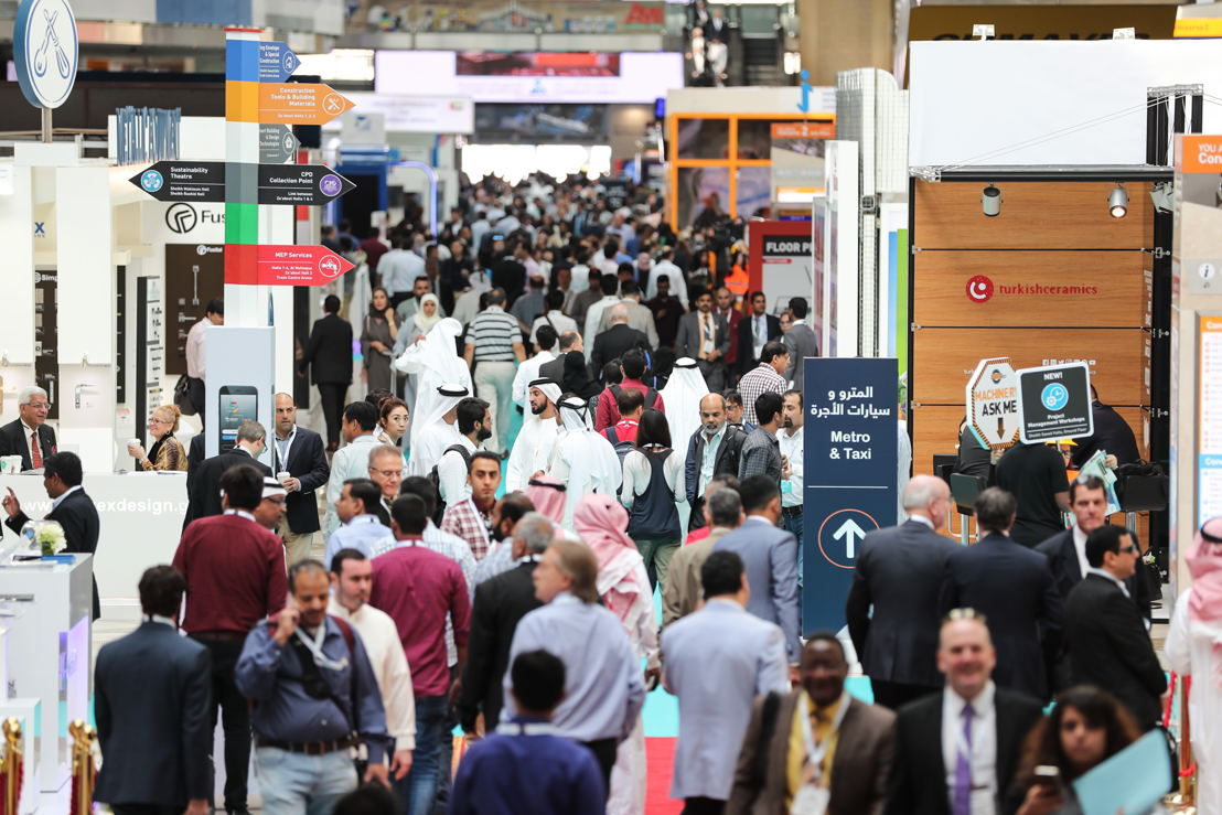 Construction professionals in Dubai at The Big 5 2016