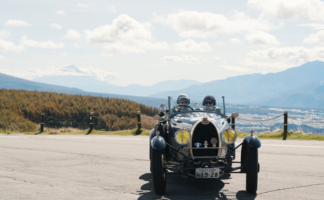 Car model: 1928 Bugatti T43 GS<br/>Location: Venus Line Road