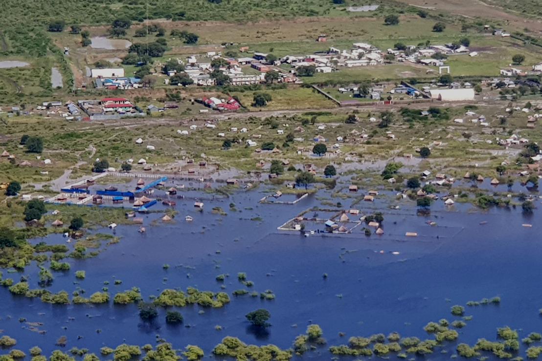 Extensas inundaciones en el este y noreste de Sudán del Sur dejan a decenas de miles de personas varadas en zonas inaccesibles