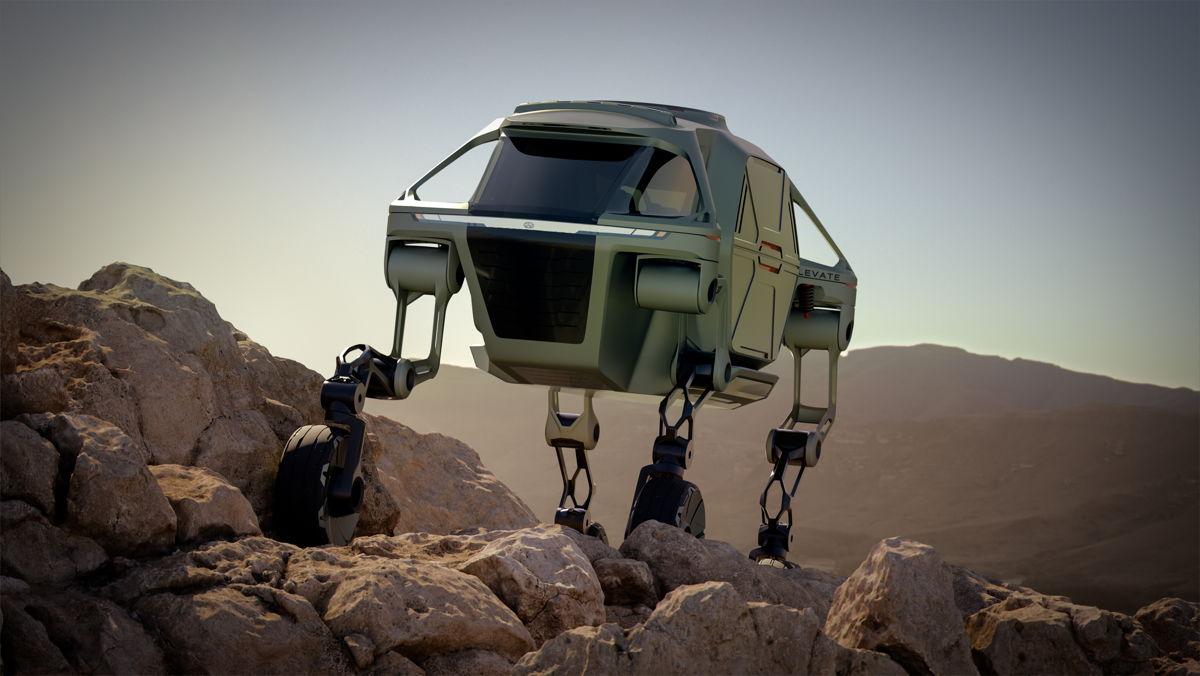 El Hyundai Elevate demuestra sus andanzas para los mamíferos.