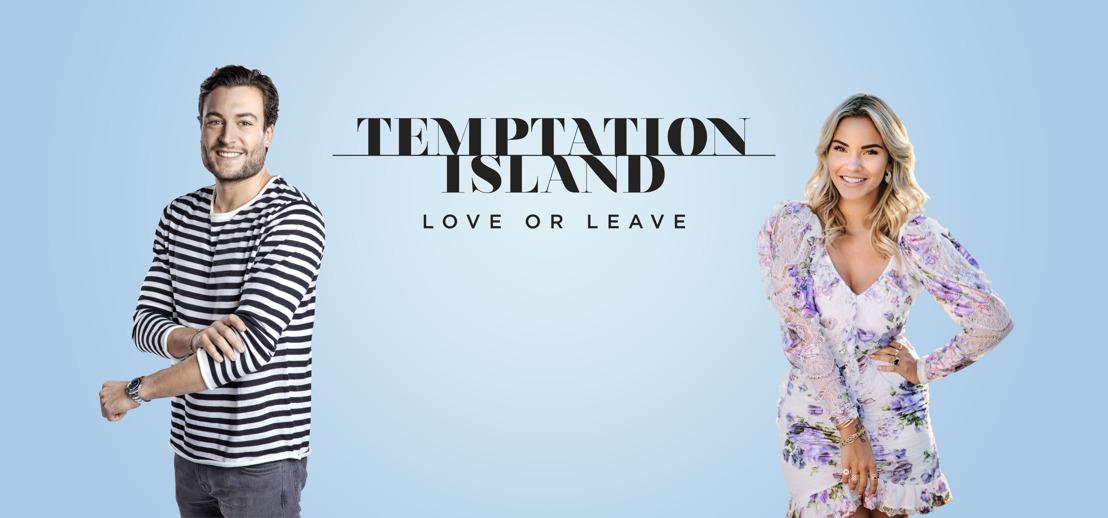 Viktor Verhulst en Monica Geuze presenteren dit najaar een compleet vernieuwde editie van Temptation Island