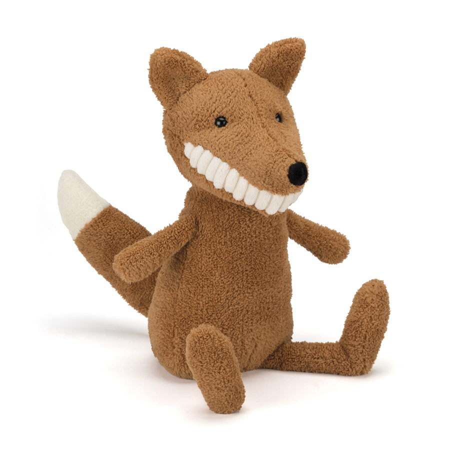 Jellycat - Toothy Fox 29 euro at Graanmarkt 13