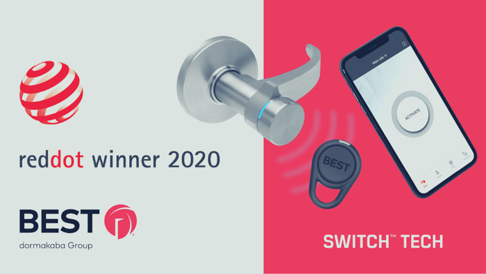 Switch™ Tech wins Red Dot for outstanding design quality