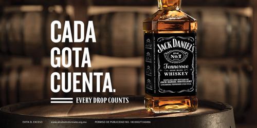 """Jack Daniel's presenta su campaña, """"Cada Gota Cuenta"""", en México."""