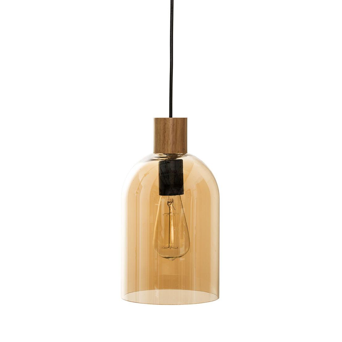 Bloomingville Hanglamp bruin glas lang - €217,50