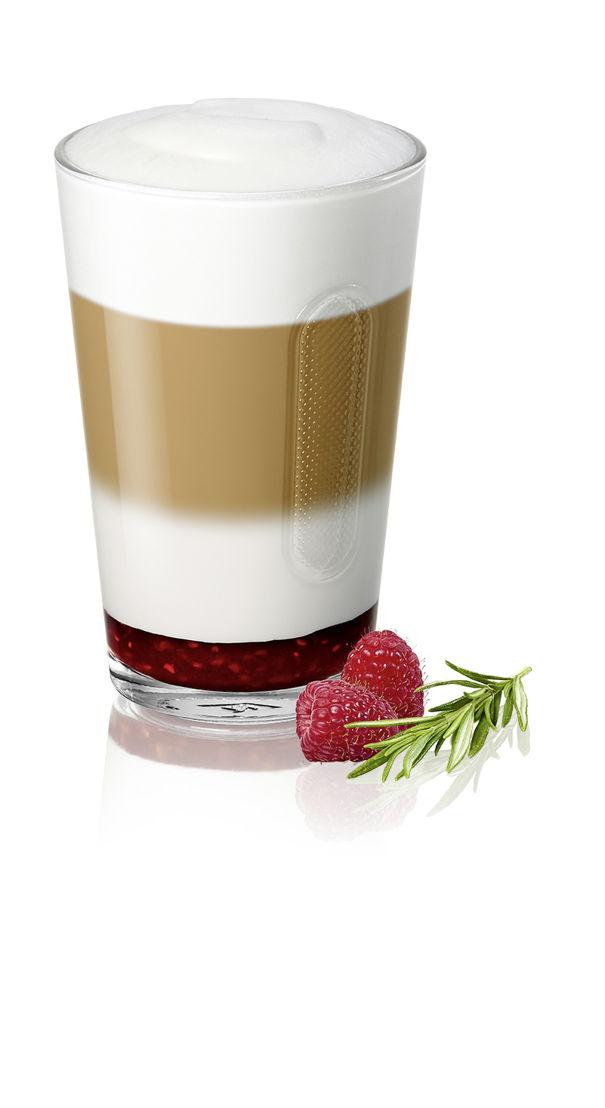 Latte Macchiato Romarin & Framboise