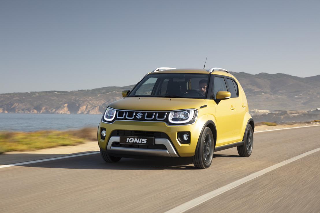 Un lifting pour la Suzuki Ignis
