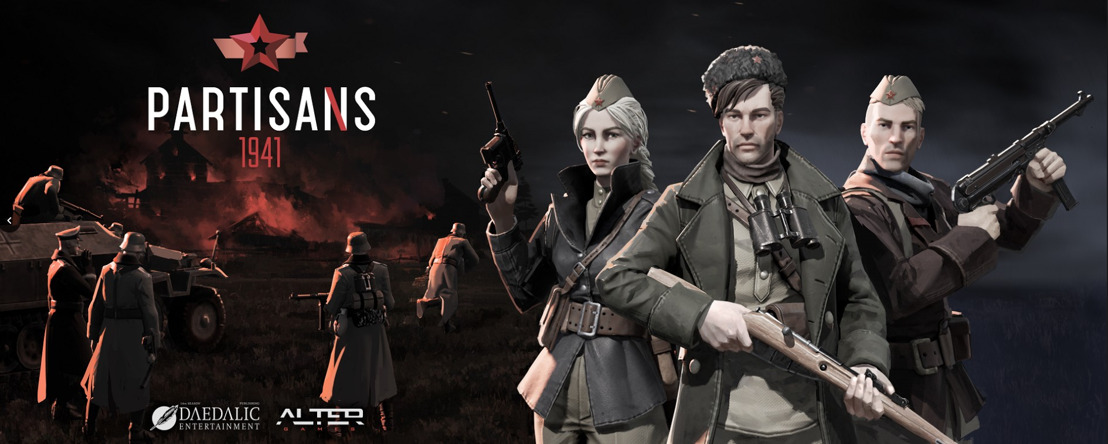 Partisans 1941 sort aujourd'hui sur Steam
