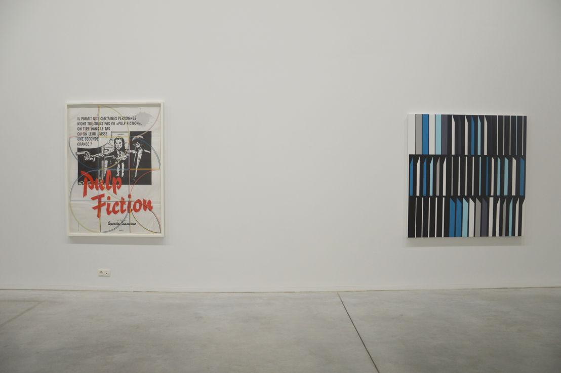 Vlnr: Sarah Morris. Pulp Fiction (2013), Banco Alliança [Rio] (2013) (c) Veerle Ausloos