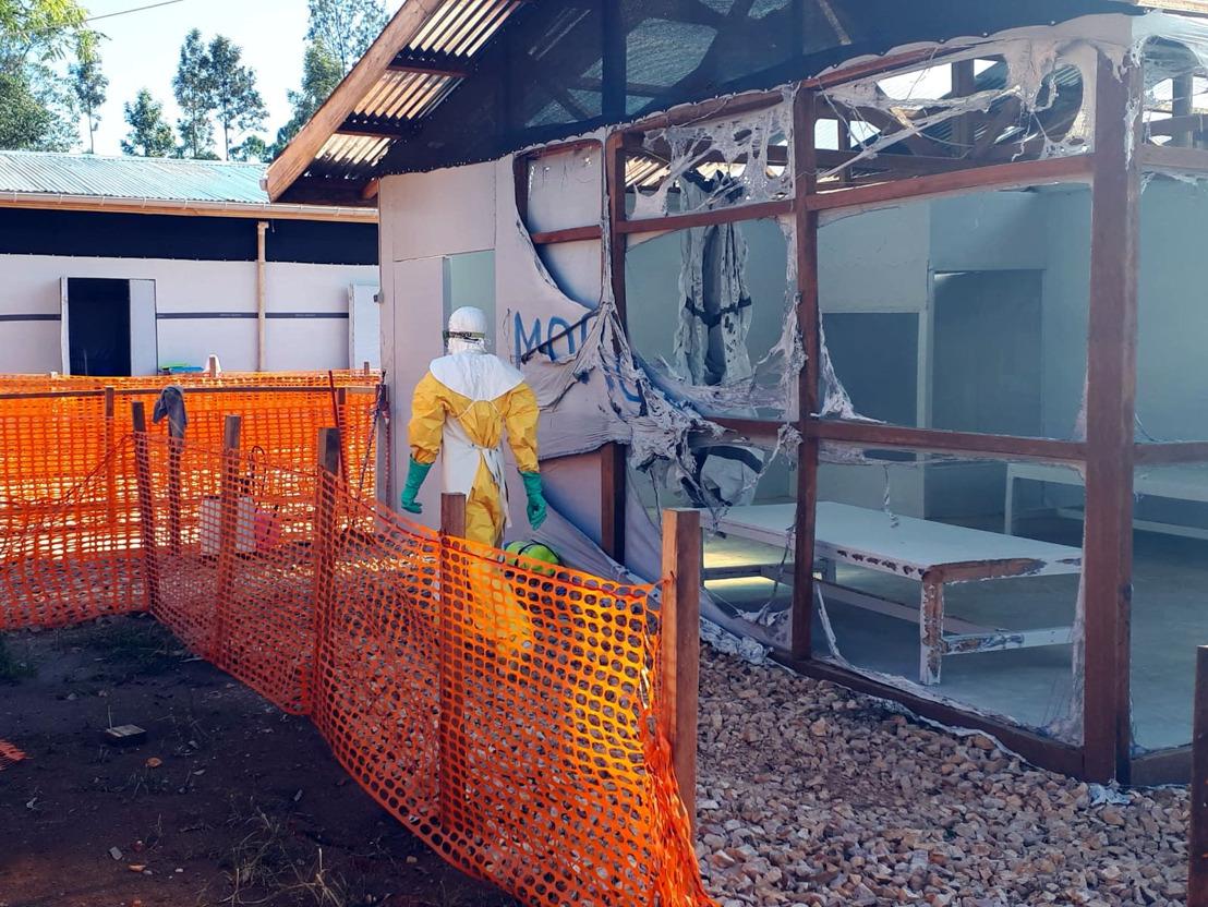 Nord-Kivu, RDC : Un centre de traitement Ebola de MSF inopérable après une violente attaque