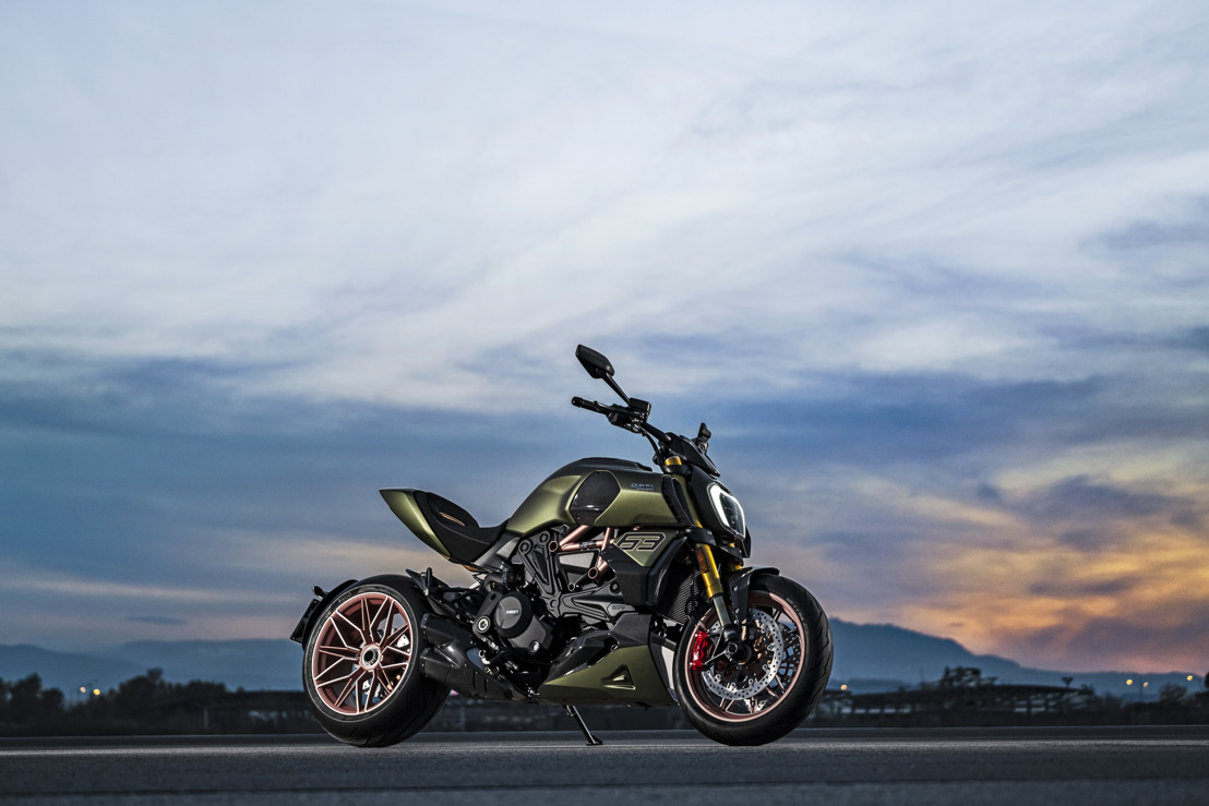 A unique project is born: Ducati Diavel 1260 Lamborghini, inspired by the Sián FKP 37