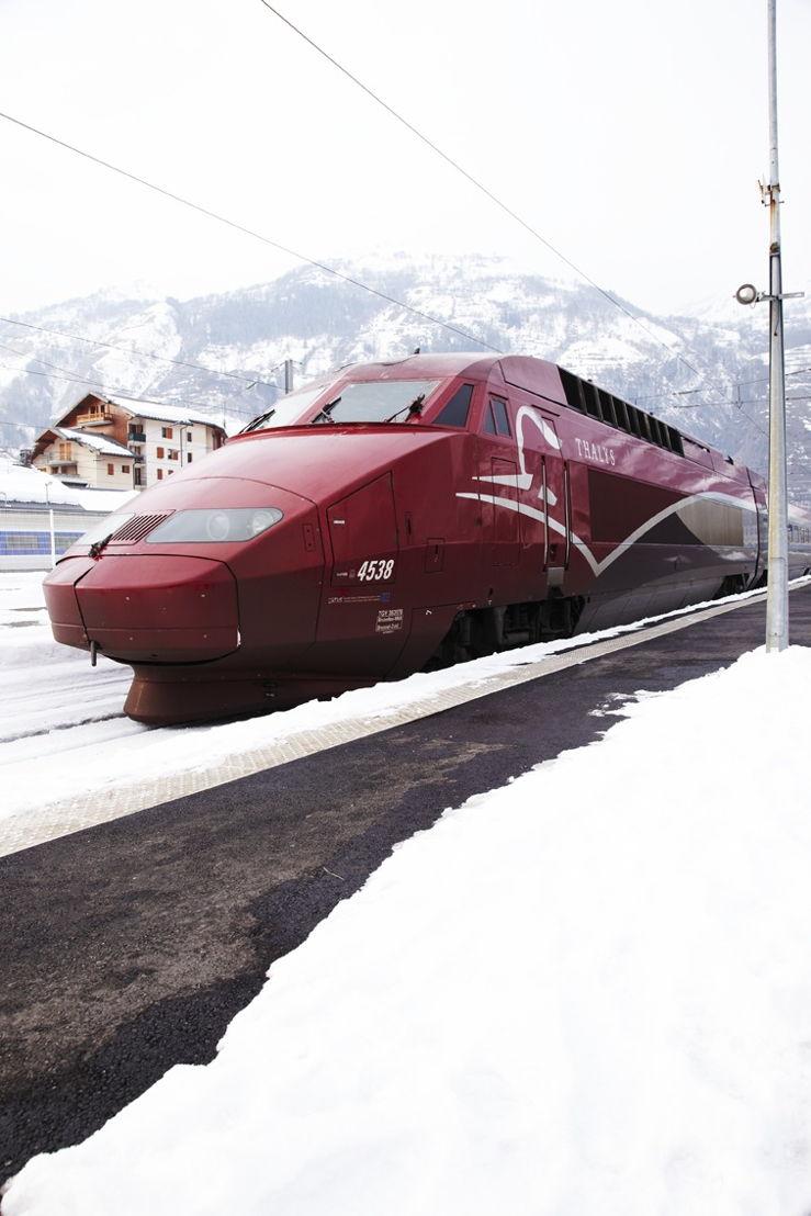 Thalys Sneeuw vertrek