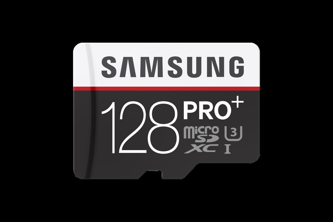 Samsung onthult grensverleggende PRO Plus 128GB microSD-kaart