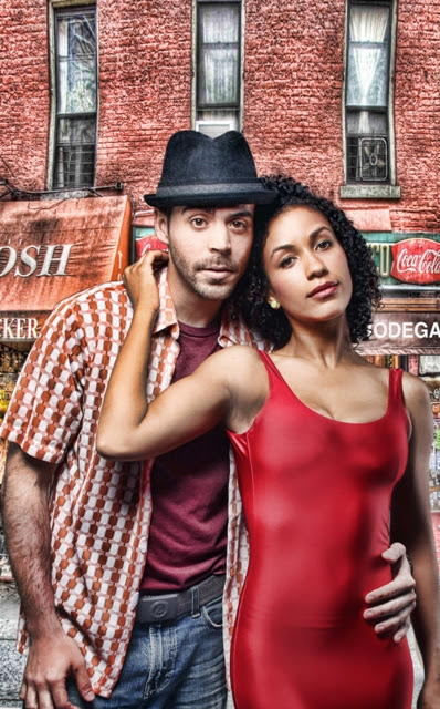 Usnavi and Vanessa <br/>[L-R] Diego Klock-Perez; Julissa Sabino<br/>Photo by BreeAnne Clowdus
