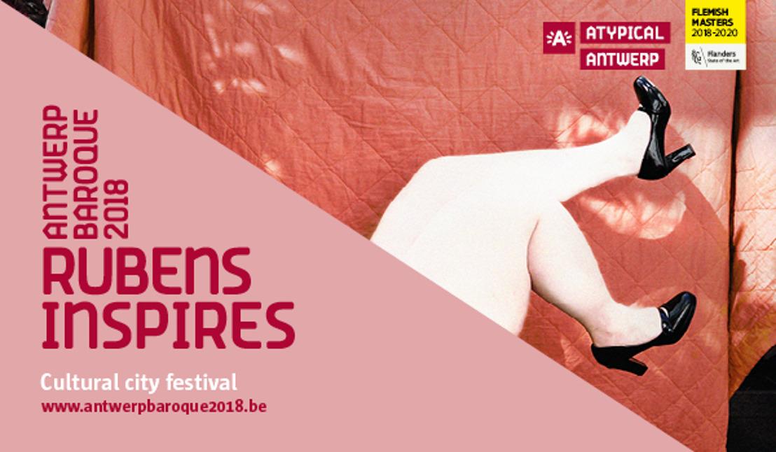Antwerp Baroque 2018 ouvre avec quatre expositions et un long week-end de festivités