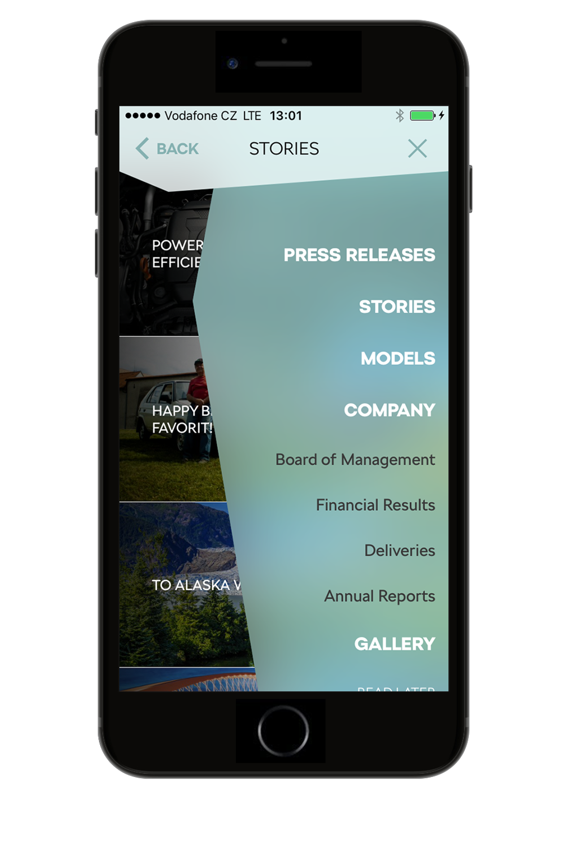 Modern and intuitive: ŠKODA Media Services app featuring a new design and additional functions