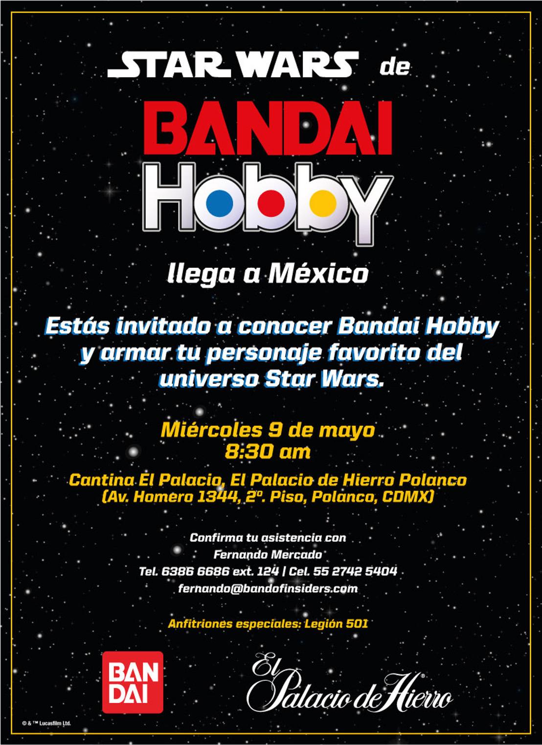 Lanzamiento Bandai Hobby: la línea de juguetes para armar de Star Wars