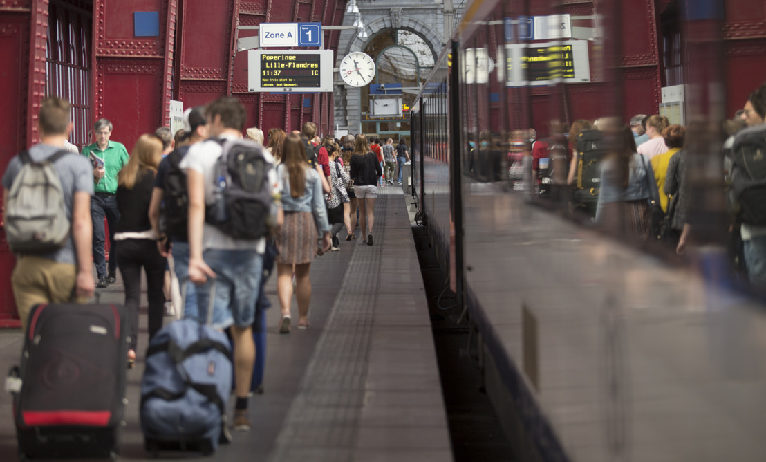 Verkoop internationale tickets NMBS flink gestegen in 2019