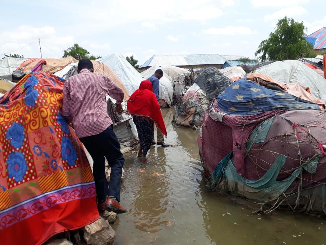 Überschwemmungen in Somalia