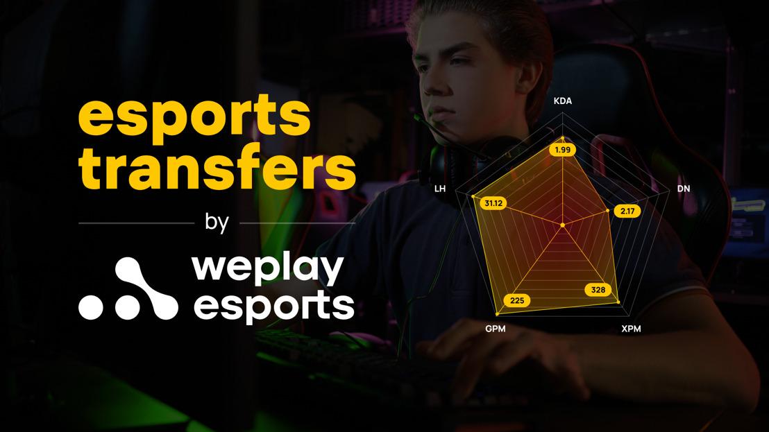 WePlay Esports presents: Esports Transfers