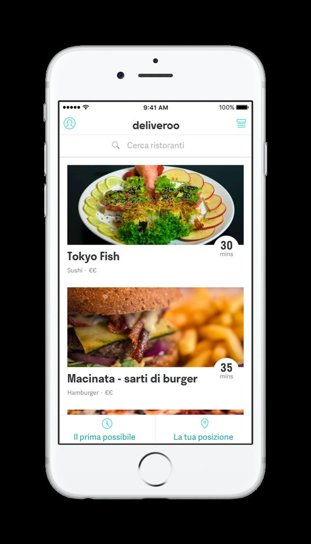 Deliveroo App - 1