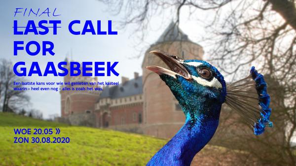 Preview: FINAL CALL FOR GAASBEEK
