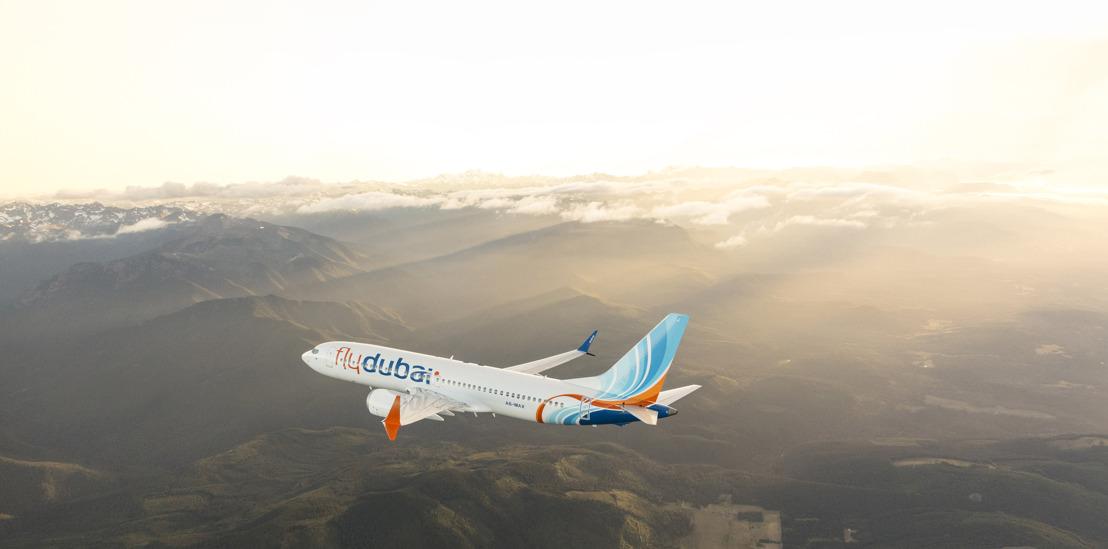 اول رحلة مسافرين لفلاي دبي بطائرة ماكس تحط في مطار سيالكوت