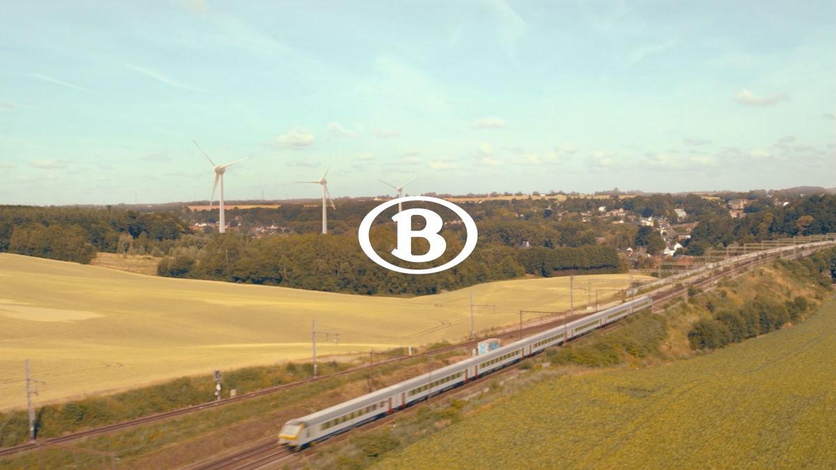 De trein stoot 7 tot 13 keer minder CO2 uit dan de automobilist