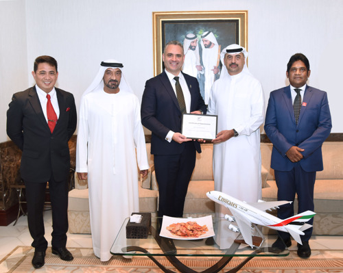 Emirates Group Security commended by New Zealand authorities