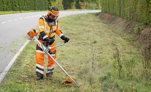 La nouvelle débroussailleuse STIHL FS 561 C-EM pour la sylviculture et l'entretien des espaces paysagers