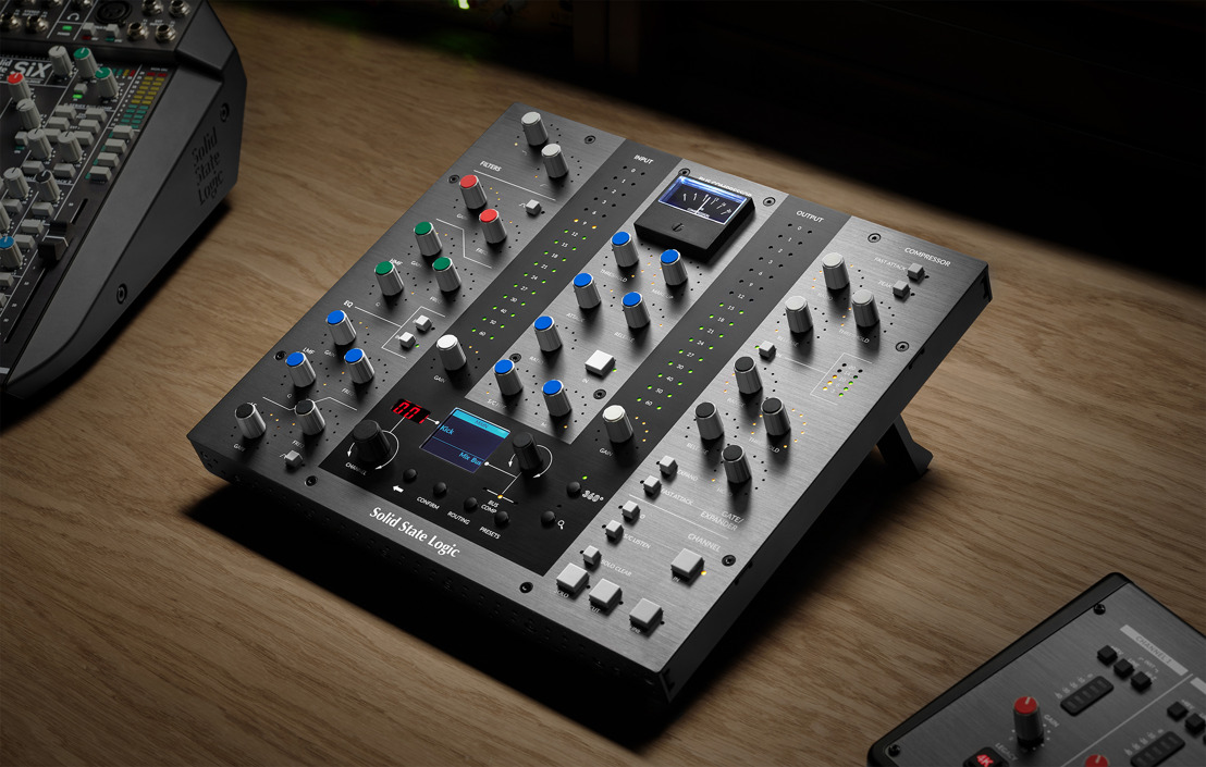 Solid State Logic Expand DAW Production Tools with UC1 Channel Strip and Bus Compressor Controller