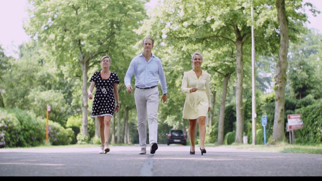 Huizenjagers Ines, Evert en Ingeborg