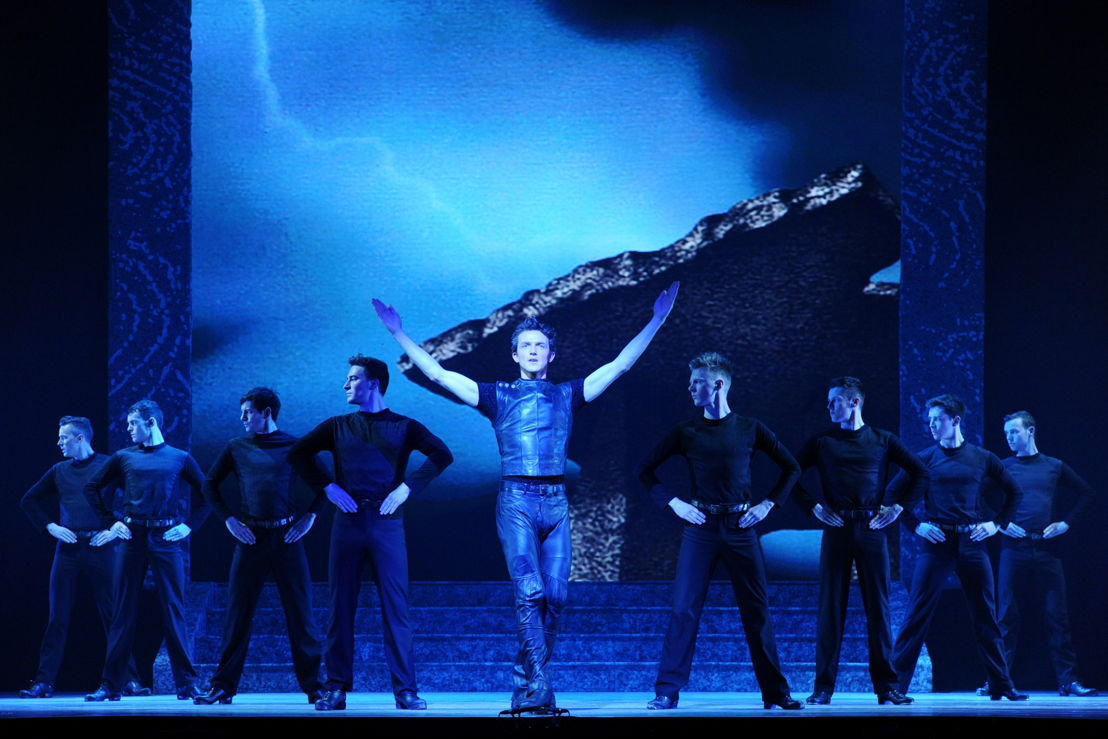 Caption: Scenes from Riverdance<br/>© Riverdance.