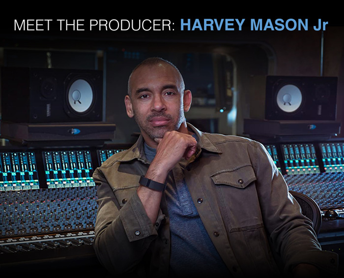 Preview: Solid State Logic's 'Meet the Producer' Live Q&A Series to Feature Harvey Mason, Jr. on Tuesday, July 14th, 1:00 pm Eastern Time