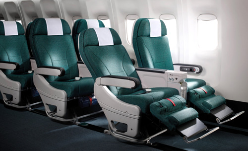 Cathay Pacific takes delivery of first aircraft with new Premium Economy product and long-haul Economy Class seats