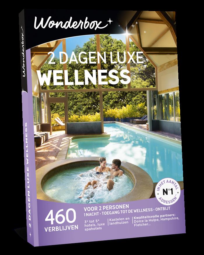 Verwen jezelf met de geschenkdoos '2 dagen luxe wellness' van Wonderbox