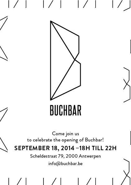 Invite Buchbar Antwerp