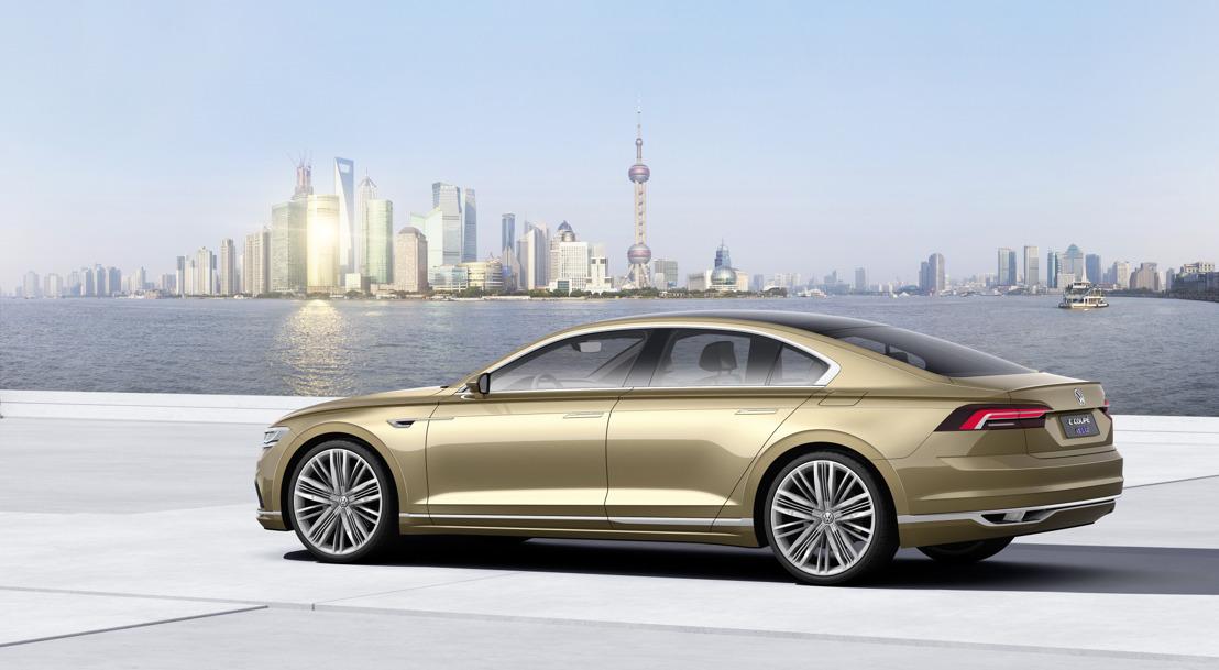 Volkswagen C Coupé GTE in wereldpremière op Auto Shanghai 2015