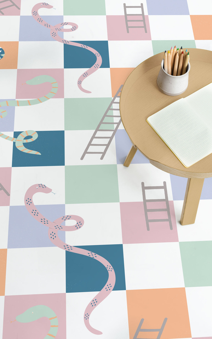 Nostalgic Games: Playful Patterns for the Modern Home
