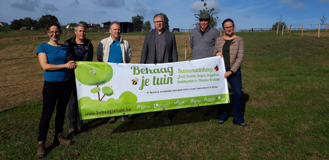 968 Vlaams-Brabanders maken hun tuin groener