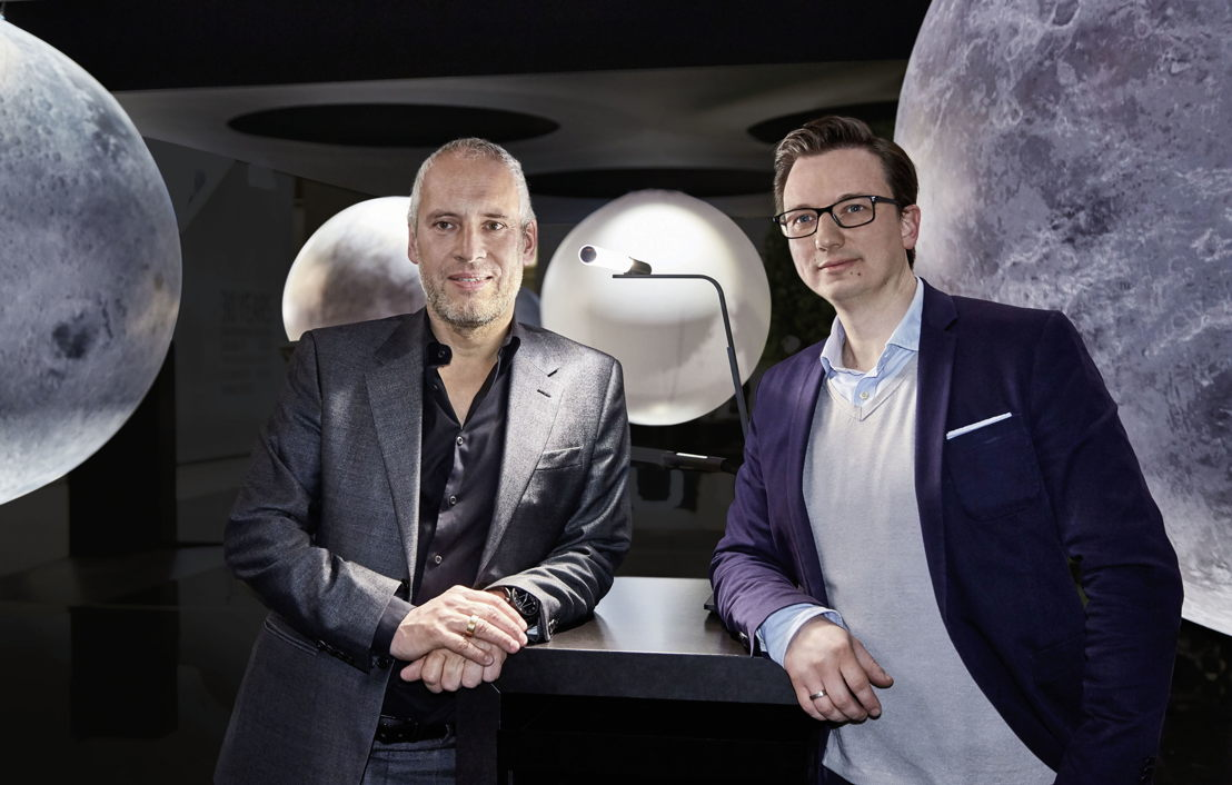 From left: Axel Meise (founder Occhio) and André Georgi (Head of Audi Industrial Design)