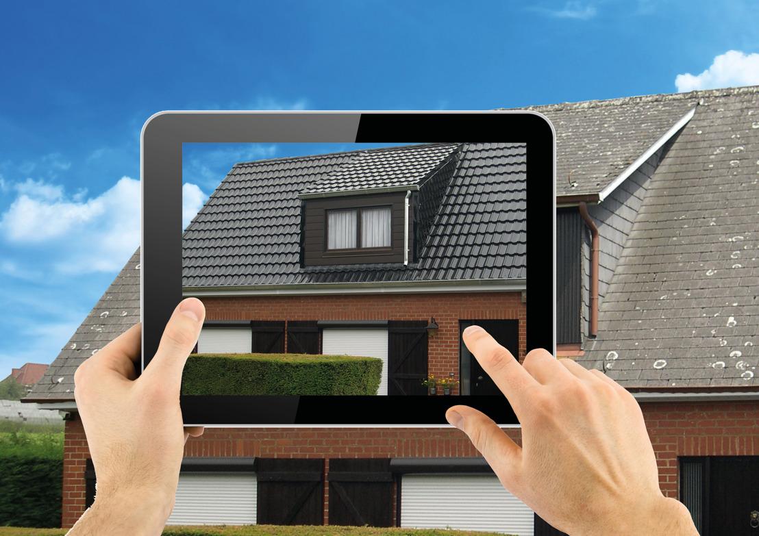 L'app photo Decra de Icopal, idéale pour visualiser son toit équipé de tuiles Decra