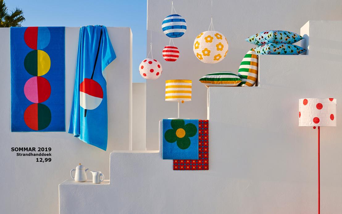 Haal alles uit de zomer met de speelse SOMMAR collectie van IKEA