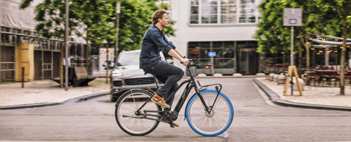 Vier keer meer Belgen op e-bike van Swapfiets